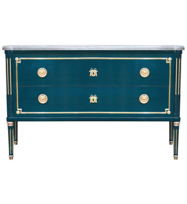 commode de salon l xvi dessus marbre commodes collection. Black Bedroom Furniture Sets. Home Design Ideas